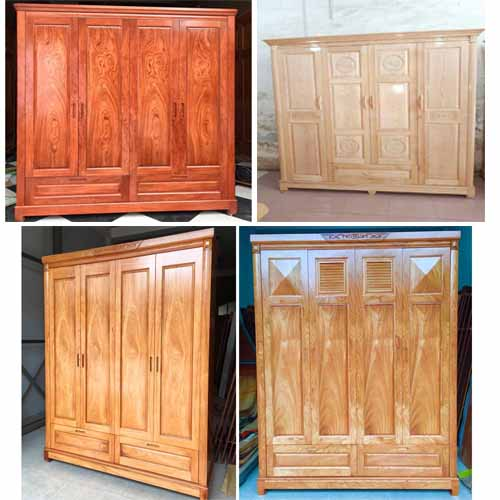 tủ quần áo gỗ dĩ an bình dương